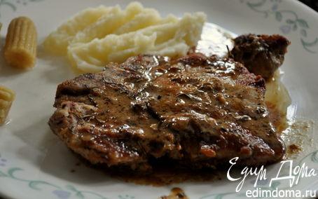 Рецепт Свиные отбивные на чугунной сковороде-гриль