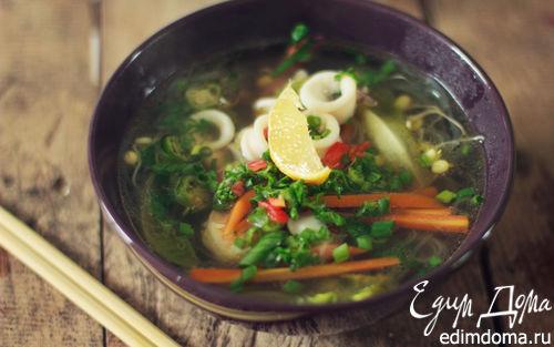 Рецепт Фо с морепродуктами (вьетнамский суп)