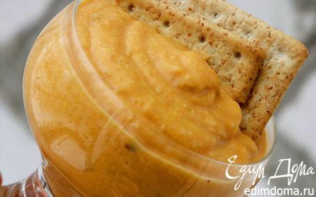Рецепт Крем-пюре из запечёных тыквы, айвы и яблока