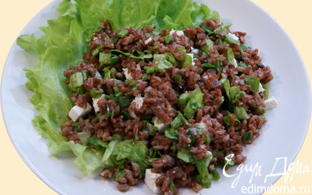 Рецепт Салат из красного риса