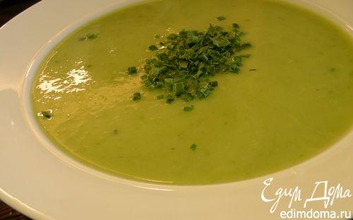 Рецепт Крем-суп из спаржи и цукини