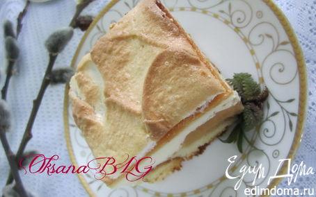 Рецепт Запеканка с персиками