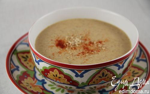 Рецепт Пряный марокканский суп с цветной капустой и миндалем