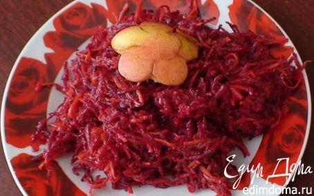 Рецепт Витаминный салат с яблоком