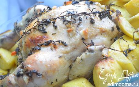 Рецепт Курица с тимьяном