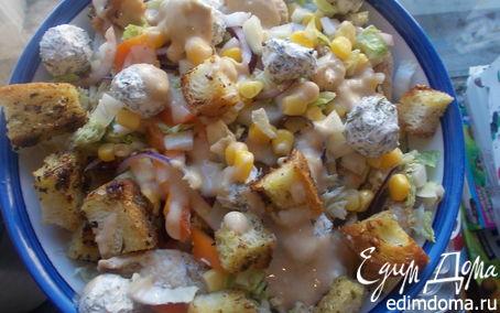 Рецепт Весенний и аппетитный салат