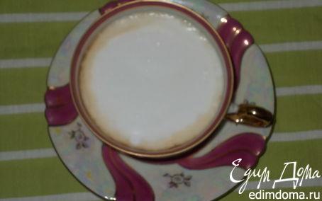 Рецепт Чай с молочной пенкой