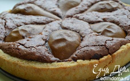 Рецепт Шоколадно-грушевый тарт от Д.Оливера
