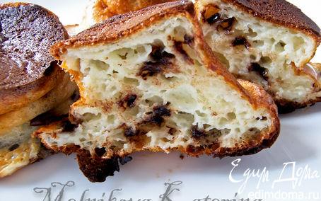 Рецепт Запеченные сырники с шоколадными каплями