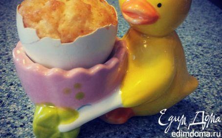 Рецепт Яблочные пасхальные кексики в скорлупе