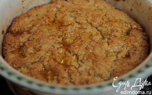 Рецепт Апельсиновый пудинг с золотистым сиропом