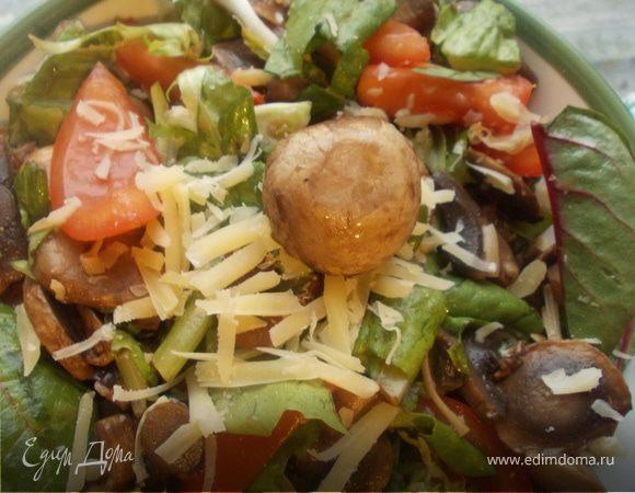 Салат с грибочками