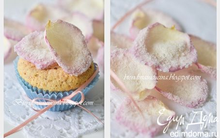 Рецепт Миндальные экспресс-пирожные с двумя видами шоколада