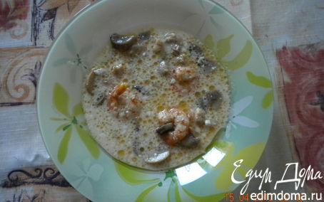 """Рецепт Тайский суп """"Том Кха Кай"""""""