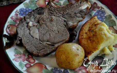 Рецепт Запеченная говядина с Йоркширским пудингом