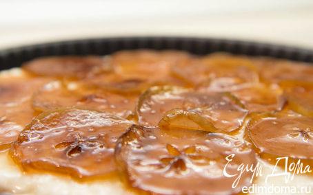 Рецепт Творожно-яблочный тортик. Без глютена