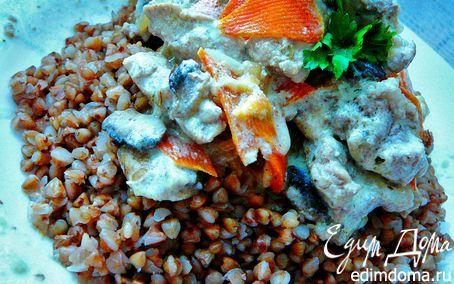 Рецепт Ароматное рагу из свинины и грибов