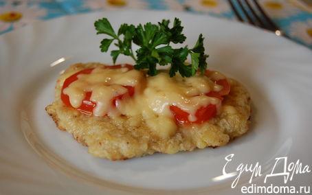 Рецепт Эскалоп с помидорами