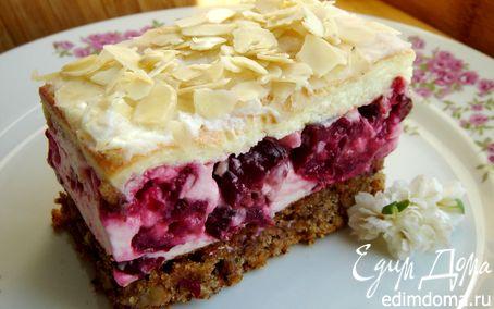 Рецепт Нежный вишнёвый торт