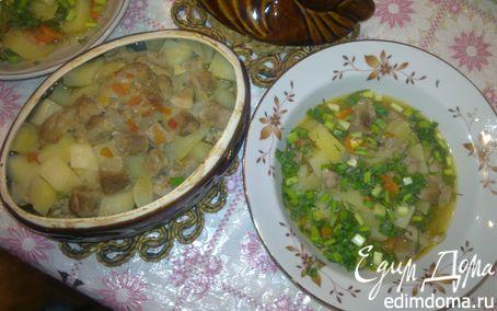 Рецепт Жаркое в горшочке