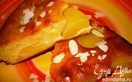 Рецепт Пирог с персиками