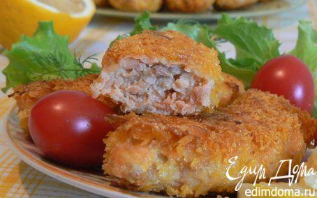 Рецепт Рыбные палочки в японских панировочных хлопьях