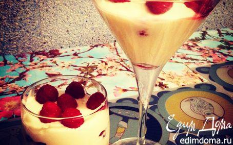 Рецепт – Десерт с маскарпоне и ягодами