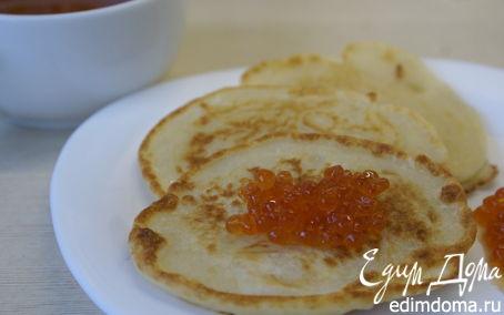 Рецепт Оладушки на кефире/Pancakes with kefir