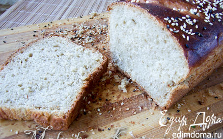 Рецепт Домашний горчичный хлеб