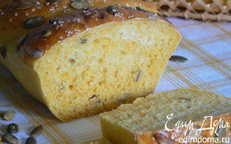 Рецепт Тыквенный хлеб с тыквенными семечками