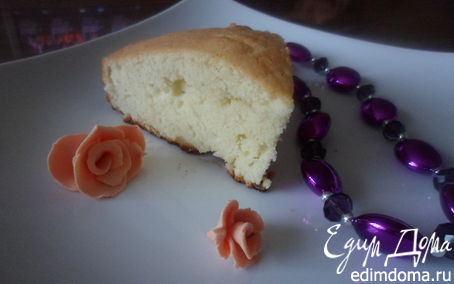 Рецепт Бретонский пирог с курагой