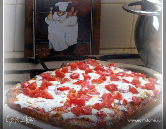 Пицца - базовый рецепт от Франческо Паолини