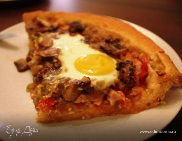 Деревенская пицца, или пирог :)