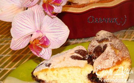 Рецепт Творожное суфле с крыжовником и шоколадом