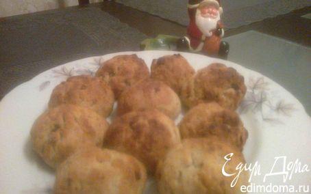 Рецепт Рождественское ореховое печенье