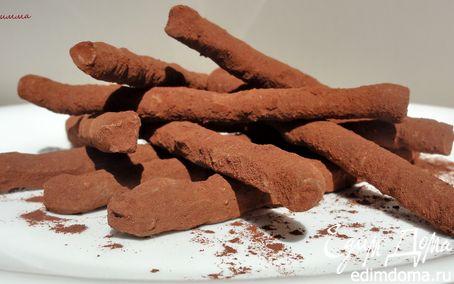 Рецепт Шоколадные палочки с имбирем и сычуаньским перцем для Вениамина