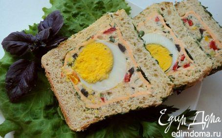 Рецепт Бутербродный хлеб с секретом