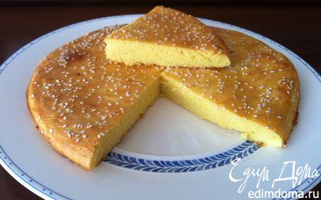 Рецепт Кукурузная лепешка