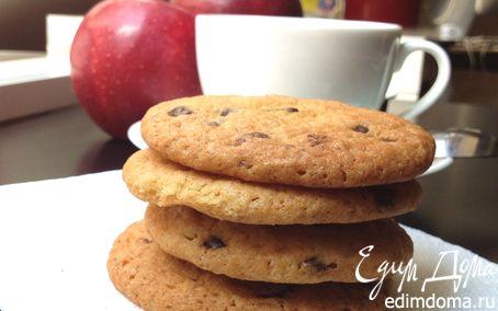 Рецепт Печеньки с шоколадными каплями для Тани