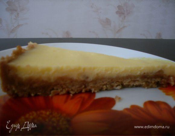 Чизкейк с плавленым сыром