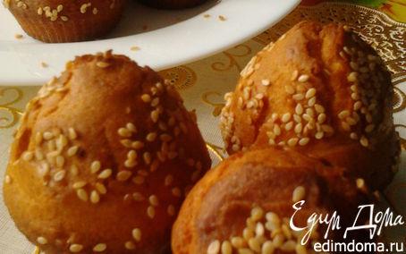 Рецепт Мини-булочки с кунжутом