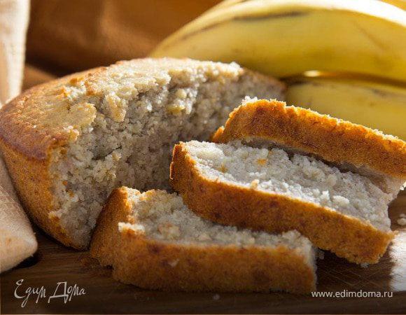 Банановый хлеб (на рисовых хлопьях)