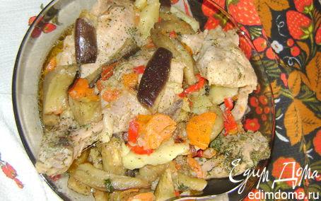 Рецепт Курочка с овощами