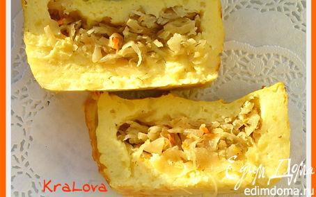 Рецепт Запеканка картофельно-капустная