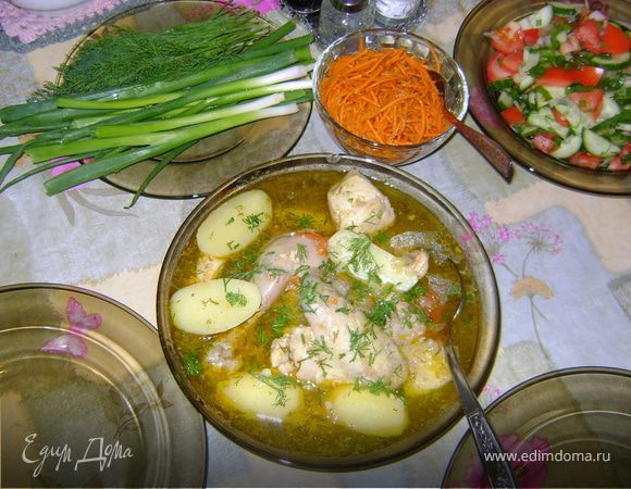 Бозартма куриная (Азербайджанская кухня)