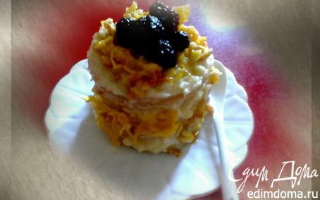 Рецепт Мини-тортики с апельсиновым соусом