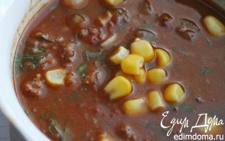 Рецепт Суп с перцем чили и шоколадом