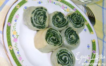 Рецепт Завитушки с крапивой