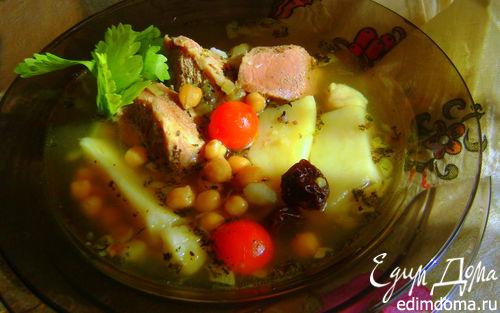 Рецепт Бозбаш. Азербайджанская кухня