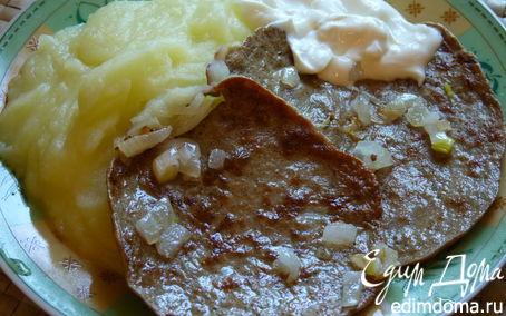 Рецепт Блинчики из говяжьей печени